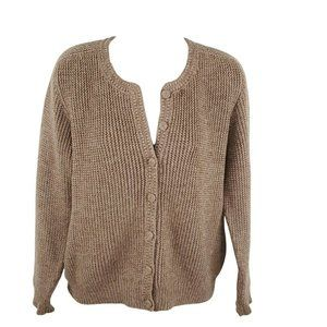 Peruvian Connection Baby Alpaca/Wool Blend Cardigan Sweater Size XS